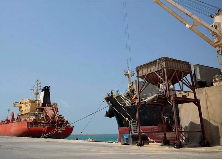 Hodeidah port Yemen