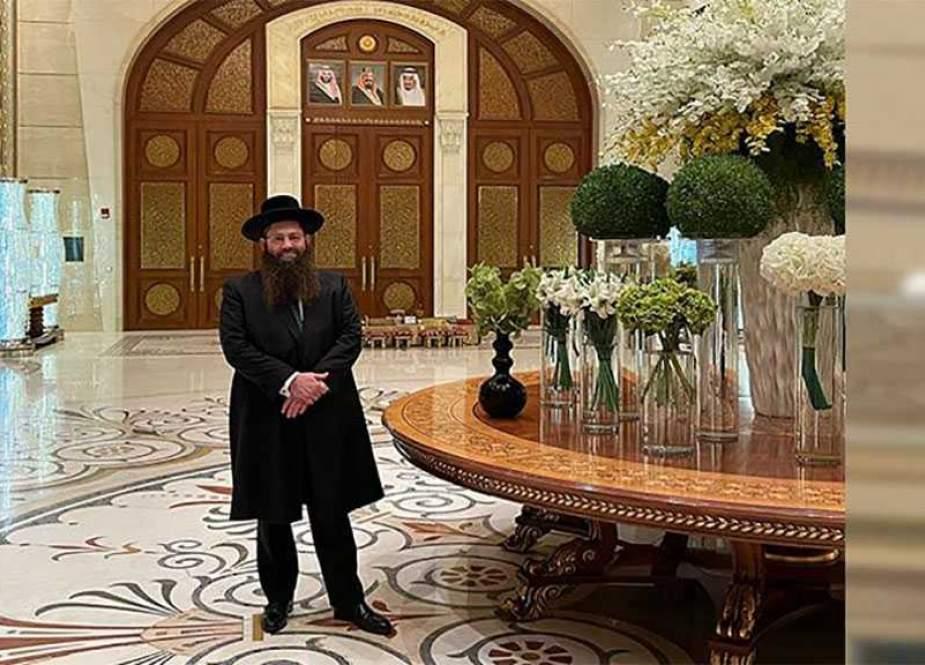Rabi 'Israel' Menjelajahi Tanah Suci dari Dua Tempat Suci !