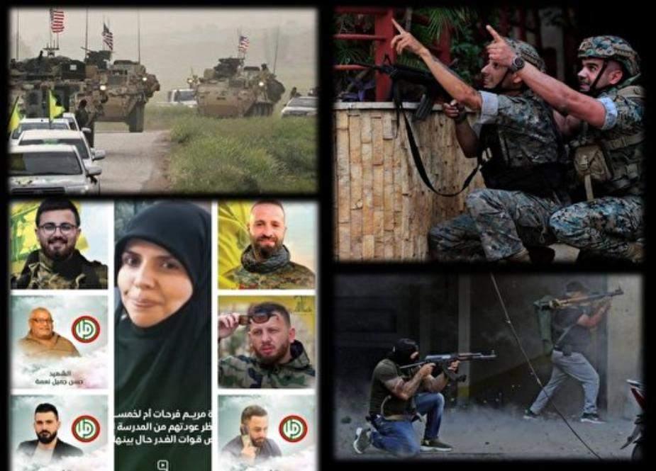 لبنان اور شام کی بدامنی میں ملوث خفیہ ہاتھ