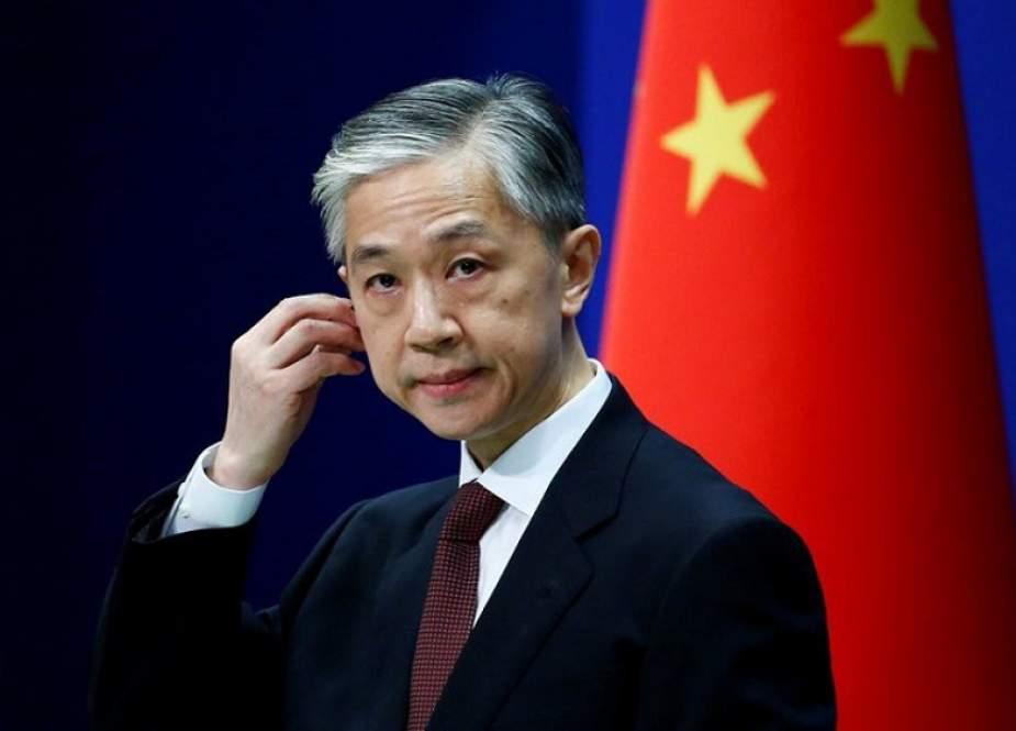 China Mendesak AS Untuk Berhenti Mendekati Pasukan