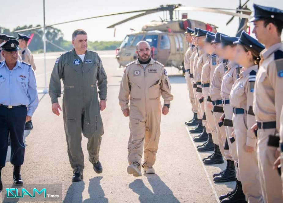 UAE Air Force Head in Zionist Entity for Military Exercise