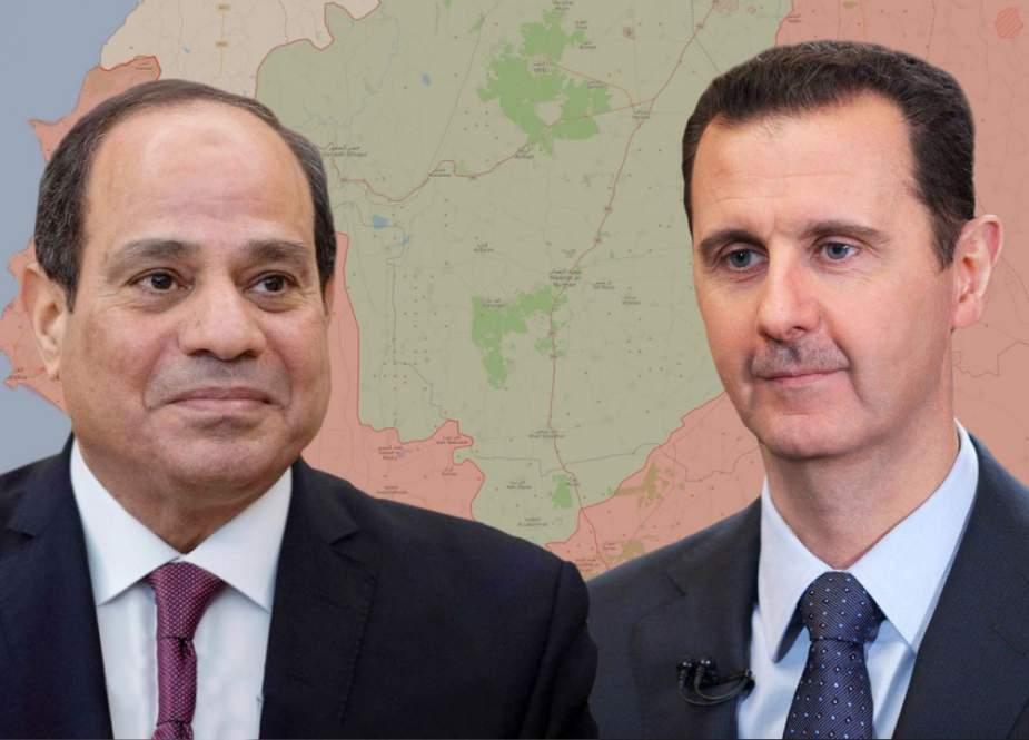 مصر وسوريا في طريقهما لإعادة بناء التحالف التاريخي