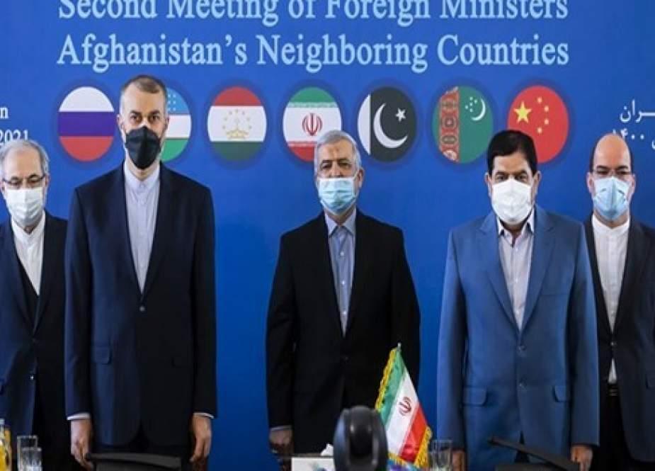 اجتماع وزراء خارجية الدول المجاورة لأفغانستان في طهران؛ الأهداف والموضوعات